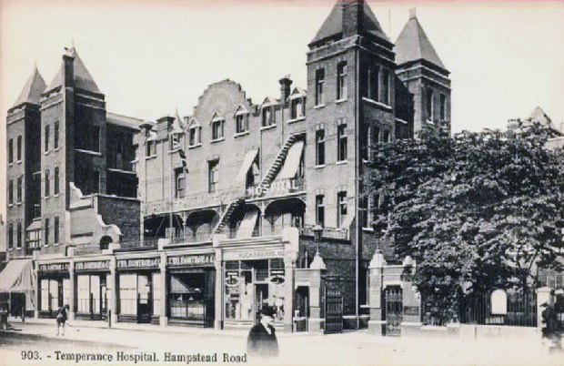 The London Temperance Hospital in its heyday