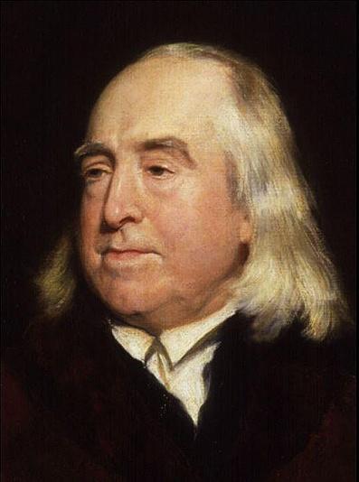Jeremy Bentham by Henry Pickersgill