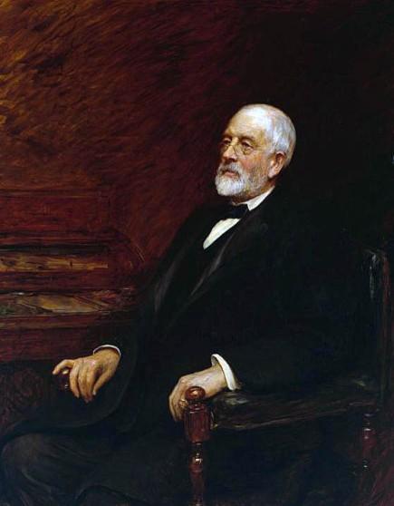 Sir Henry Tate by Sir Hubert von Herkomer, 1897 (image: Tate Britian)