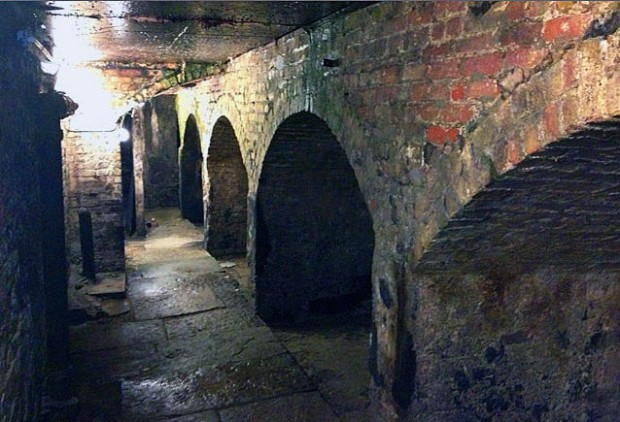 Tunnel beneath the Morpeth Arms (image: Morpeth Arms website)
