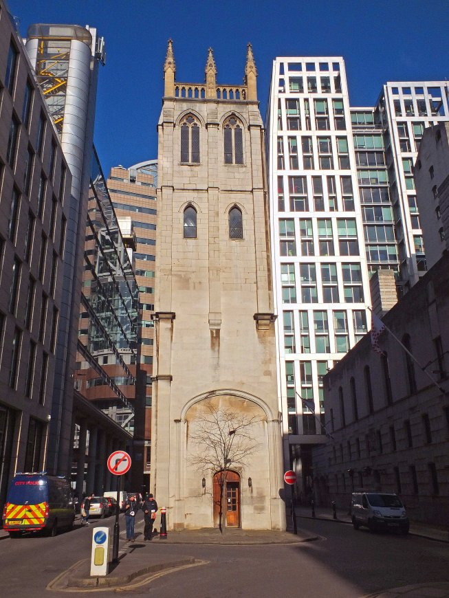 St Alban's Tower, Wood Street