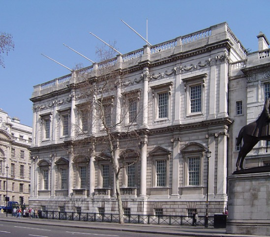 Banqueting House, the only remaining section of Whitehall Palace (image: Wikipedia)