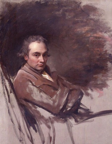 George Romney self portrait.