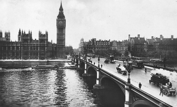 The site of Portcullis House in 1928 (image: Wikipedia)