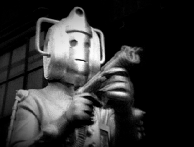 A Cyberman from 1968.
