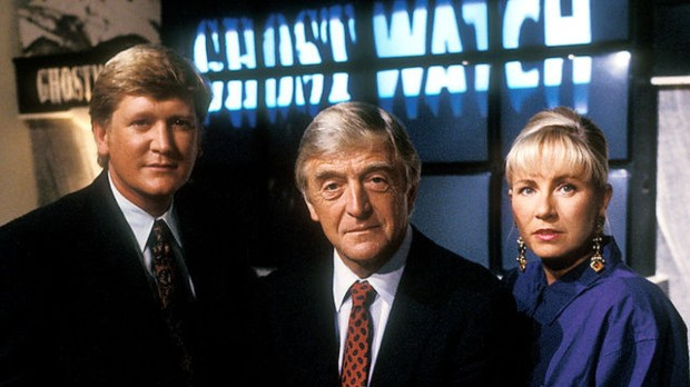 Mike Smith, Sir Michael Parkinson and Sarah Greene, the celebrities who gave 'Ghostwatch' such an authentic feel...