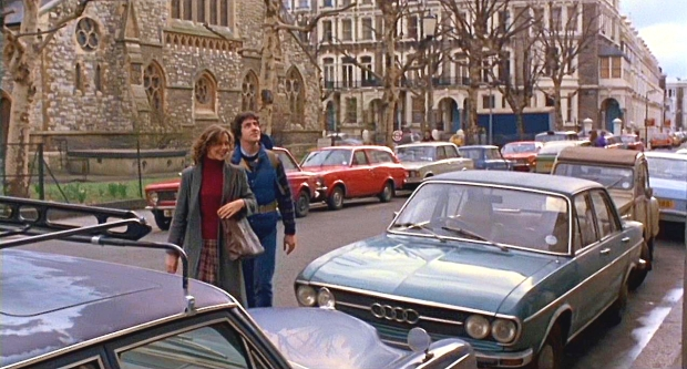 Redcliffe Square, as seen in an 'American Werewolf in London'.