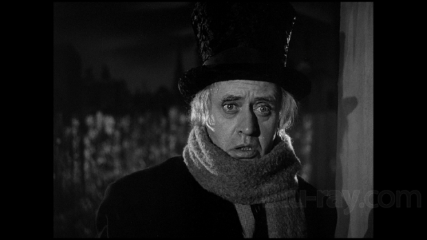 Alistair Sim as Ebenezer Scrooge