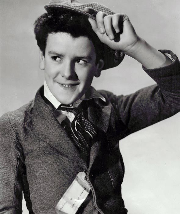 A young George Cole in the early 1940s (image: Daily Express)