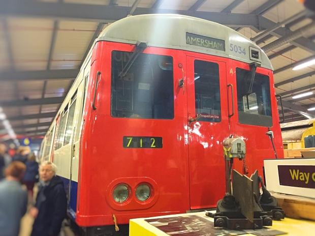 A-stock Metropolitan line car