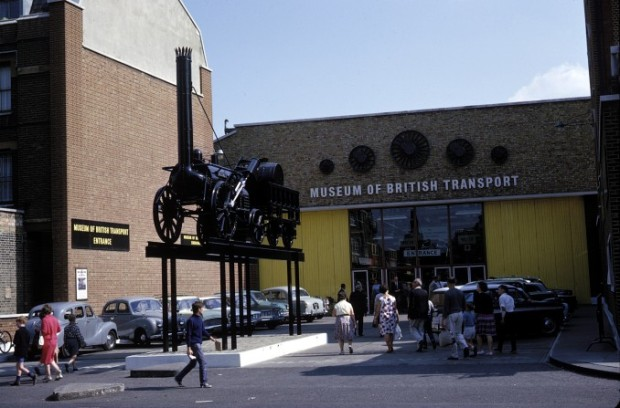 The British Transport Museum, Clapham, 1966 (copyright the National Railway Museum)