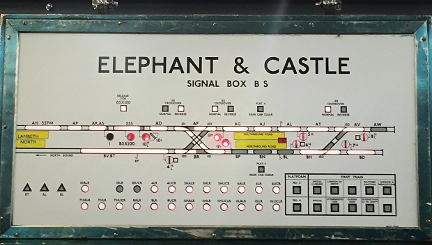 Elephant & Castle signal box