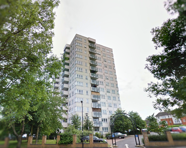 The Harlech Tower (aka Nelson Mandela House), Acton (image: Google)