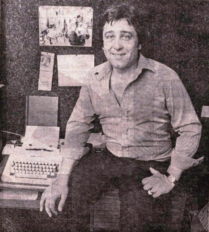 John Sullivan pictured in the 'Radio Times' in 1981 (image via eustonfilms.blogspot)