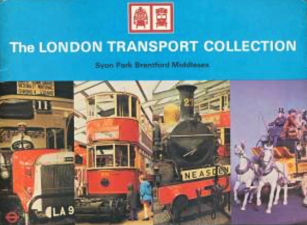 Programme from the 1970s for the London Transport Collection at Syon Park