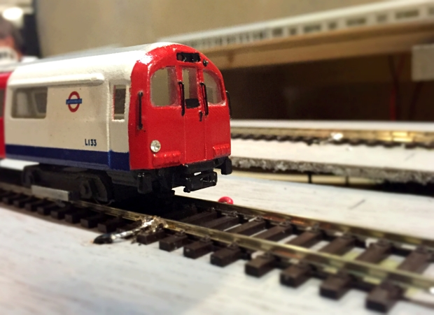 Miniature tube train