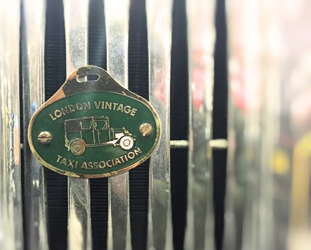 London Vintage Taxi Association badge