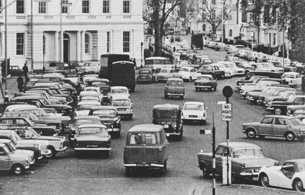 Belgrave Square, 1965 (image: London Illustrated News)