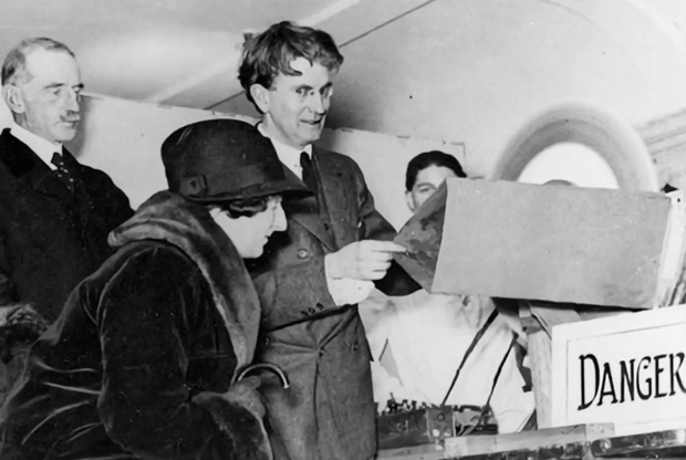 John Logie Baird at Selfridges, March 1925 (image: BBC)
