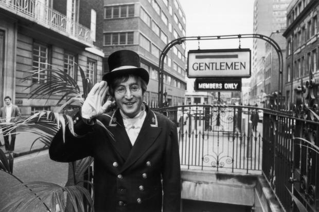 John Lennon, Broadwick Street, November 1966