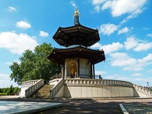 The Battersea Peace Pagoda