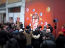 David Bowie Mural, Brixton... see