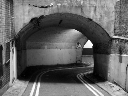 Entrance to Lower Robert Street... see a Ghostly Tunnel in the Heart of London