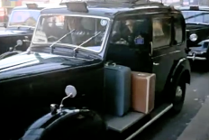 An old London cab... see London Taxis in 1960