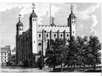 The Tower of London in the 1600s... see The Gunpowder Plot
