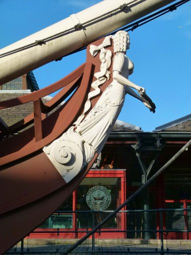Ship's figurehead... see Tobacco Dock: Wapping's Ghostly Mall